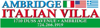 Ambridge iralian villa logo