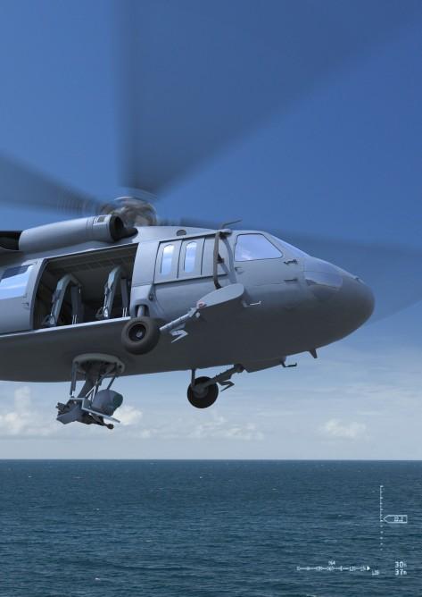 المشروع الامريكي الاسرائيلي Duke RWS لتسليح المروحيات بالروبوت Duke-weapon-system-1