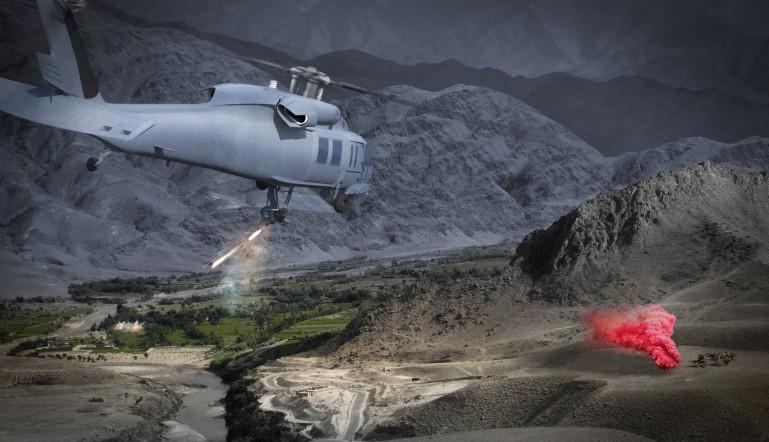 المشروع الامريكي الاسرائيلي Duke RWS لتسليح المروحيات بالروبوت Duke-weapon-system
