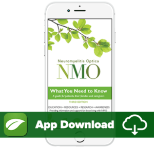NMO Resources App download digital NMO Patient Guide What You Need to Know 3rd Edition