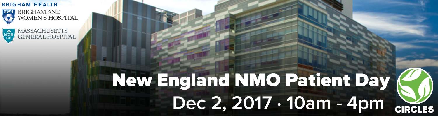 New England 2017 CIRCLES NMO Patient Day - Register online for free
