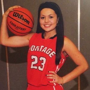 Portage junior Payton Barragan had to give up basketball as a result of neuromyilitis optica, a central nervous system disorder that caused her to lose sight in her left eye.