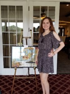 Award-Winning High School Art Student Honors Grandmother by Raising Funds for NMO Research
