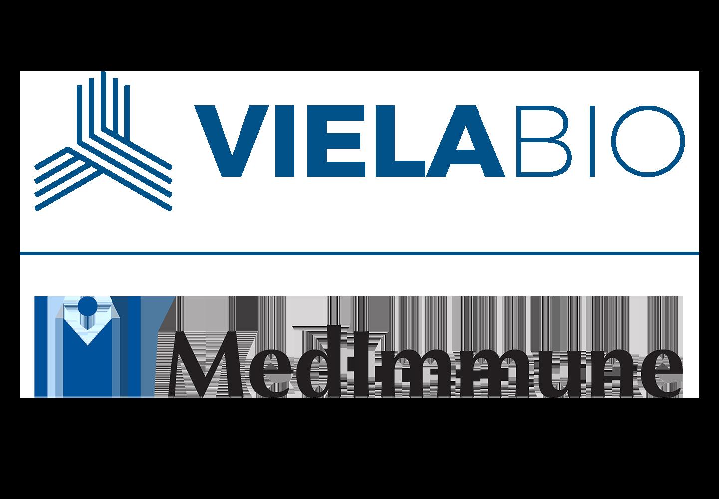 Viela Bio and Medimmune Logos