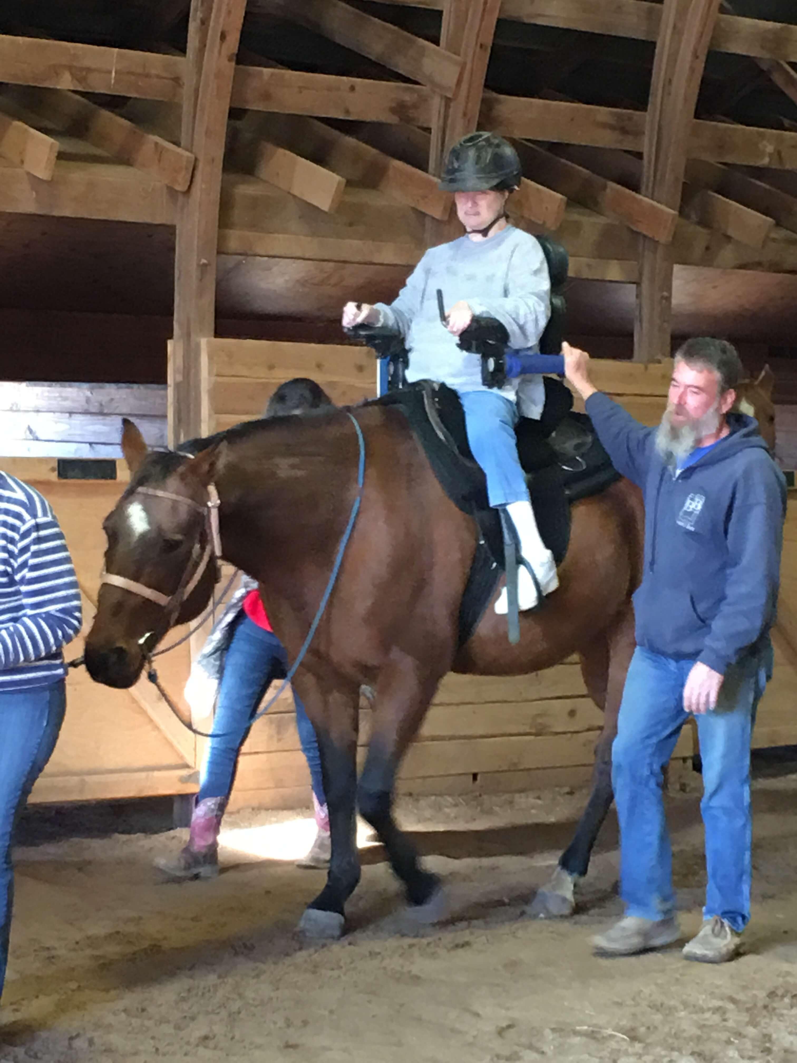 Leah Campbell Therapeutic Horseback Riding