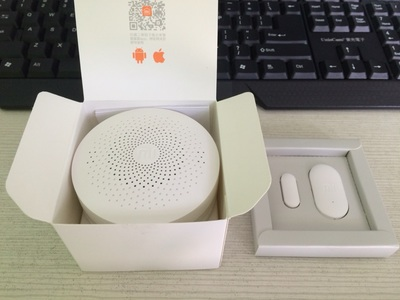 Original Xiaomi Mi Smart WiFi Remote Control Multi-functional Gateway Upgraded Version - White