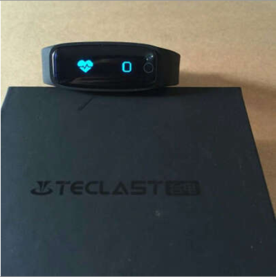 """Teclast H30 Smart Bracelet Bluetooth 4.0 with 0.86"""" OLED Display / Touch Key / Heart Rate Monitor / Pedometer / Sleep Tracker / Call Reminder for Android iOS - Black"""