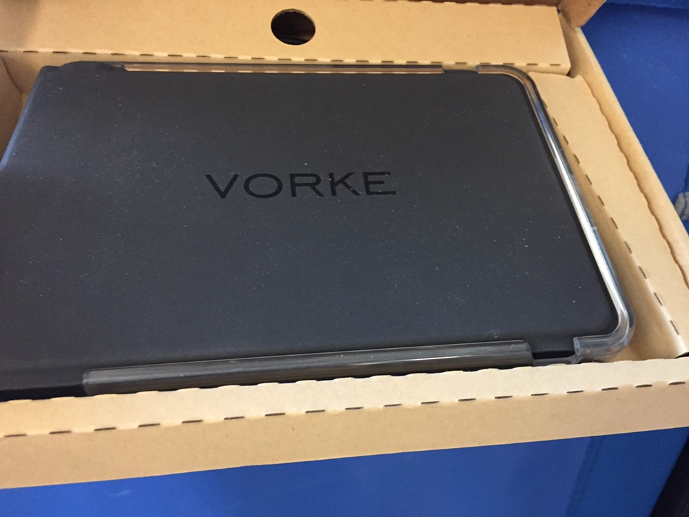 VORKE K1 Universal Wireless Bluetooth Folding Keyboard with Holder for iPad iPhone Android Phone Windows Tablets Windows Phone