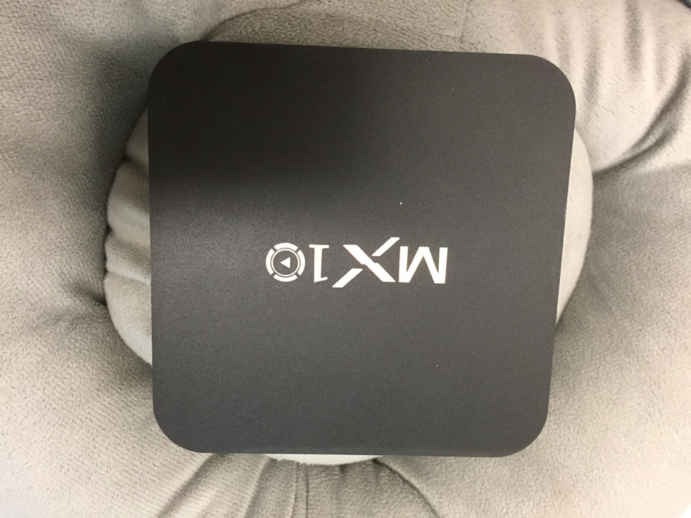 MX10 Android 8.1 Oreo RK3328 4GB DDR4 32GB eMMC KODI 18.0 4K HDR TV BOX 802.1.1 b / g / n WIFI LAN VP9 HDMI USB3.0 - أسود