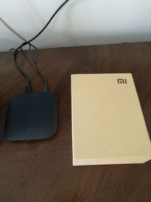 [España] XIAOMI 4K Mi Box H.265 Android TV 8.0 Oreo Decodificador VP9 HDR Video DTS Dolby-Official International Version