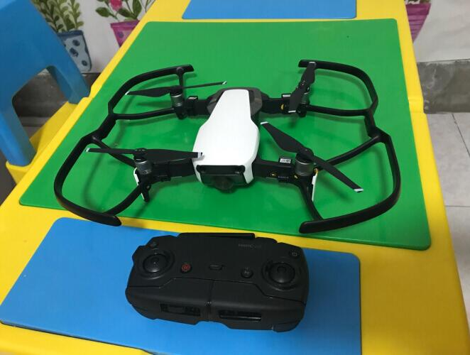 DJI Mavic Air 4K-camera 3-as Gimbal 32MP-bol Panorama's SmartCapture inklapbare RC-drone RTF - Arctic White