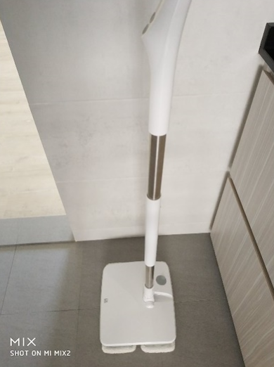 Xiaomi Mijia  Wireless Electric Mop Handheld Floor Mop Machine -White
