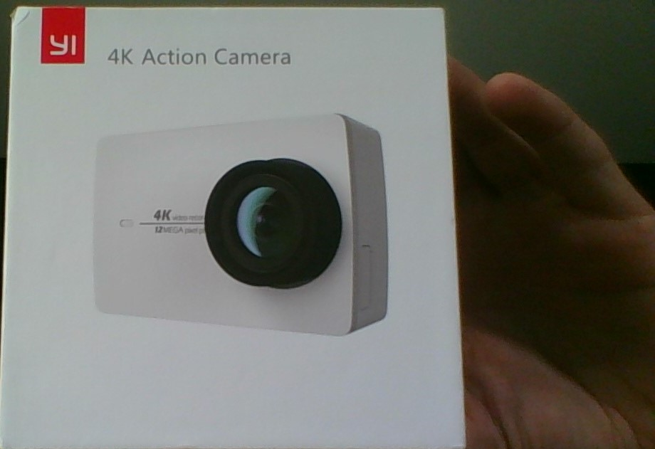 [HK Stock] Official International Version Xiaoyi YI 4K Action Camera II 2.19 Retina Screen Ambarella A9SE75 Sony IMX377 12MP 155‎ Degree Wide Angle 1400mAh EIS LDC Sport Camera - Black