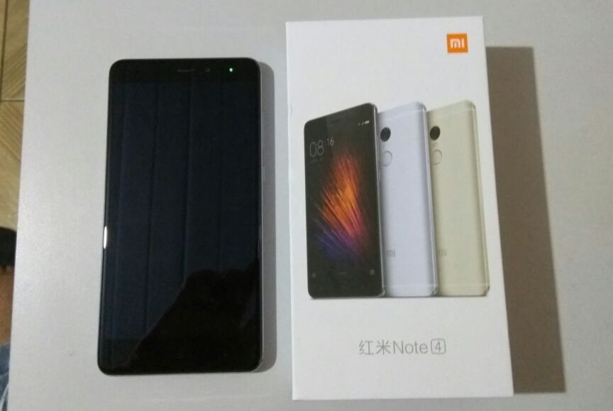 [HK Stock][Official Global Rom]Xiaomi Redmi Note 4 Pro 5.5inch FHD 2.5D Arc Screen MIUI 8 4G LTE Smartphone Helio X20 MT6797 Deca Core 3GB RAM 64GB ROM 13.0MP Touch ID 4100mAh Metal Body - Gray