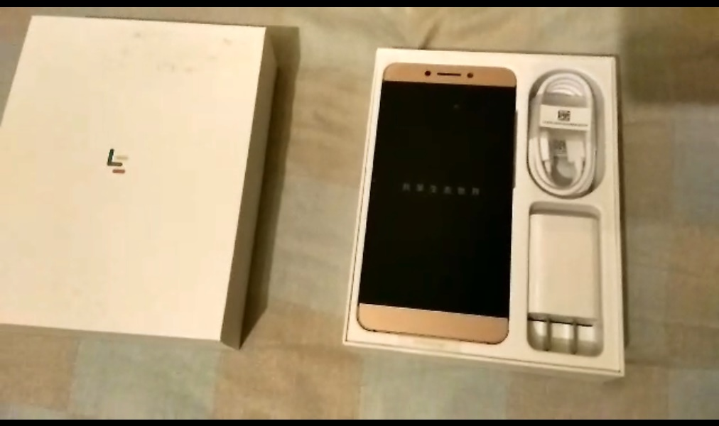 LeTV LeEco Le S3 X626 5.5 Inch 4G LTE Smartphone Helio X20 Deca Core 4GB RAM 32GB ROM 21.0MP Touch ID - Rose Gold