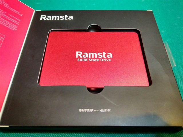 Ramsta S600 480GB SATA3 High Speed SSD Solid State Drive Hard Disk 2.5 Inch - Red
