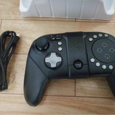 GameSir G5 Bluetooth 5.0 Game Controller Wireless Touchpad with Bracket for Android iOS - Black
