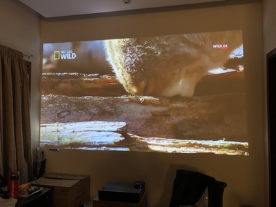 Xiaomi WEMAX ONE Ultra Short Throw  Full HD Laser Projector 7000 Lumens HDR 3000:1 0.47 inch DMD 150 inch T968 Android 6.0 ALPD 3.0
