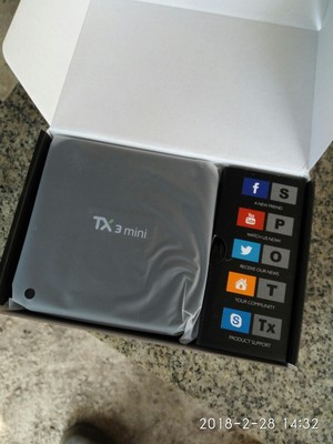 TANIX TX3 MINI Android 7.1 KODI 17.3 Amlogic S905W 4K TV Box 2GB / 16GB WIFI LAN HDMI CEC