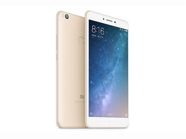 [HK Stock][Official Global ROM]Xiaomi Mi Max 2 6.44 Inch  5300mAh Smartphone FHD 4GB 64GB Snapdragon 625 Octa Core 12.0MP Cam Android 7.1 Metal Body QC3.0 IR Remote Control - Gold