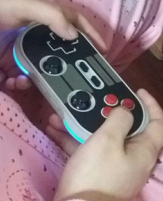 8Bitdo NES30 PRO Wireless Bluetooth Controller Gamepad for iOS /Android/PC/ Nintendo Switch - Black + Gray