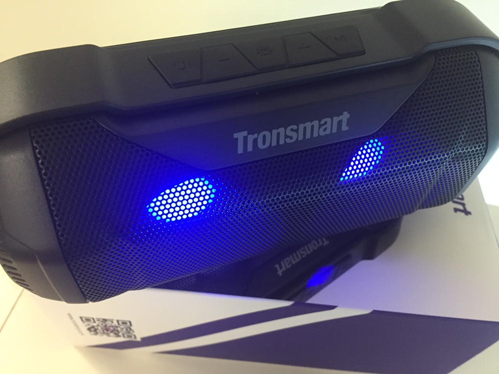 Tronsmart Element Blaze Bluetooth Speaker IPX56 Water-Resistant Superior Bass LED Lights