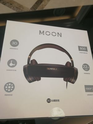 ROYOLE MOON VR Cuffie All-in-one HIFI 3D Occhiali VR Touch Control Cinema - Nero