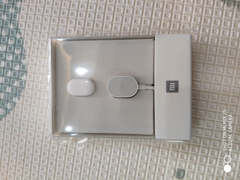 Xiaomi Wireless Bluetooth In-ear Headset One Button Multi-Control IPX4 Water Resistant - White