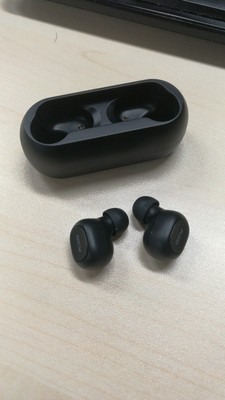 QCY T1C/T1 TWS Dual Bluetooth 5.0 Earphones Noise Reduction About 3 Hours Working Time - Black