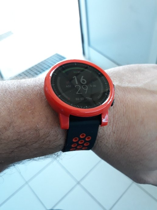 Protective Cover Case For Xiaomi HUAMI AMAZFIT Stratos Smart Sports Watch 2/2s - Red
