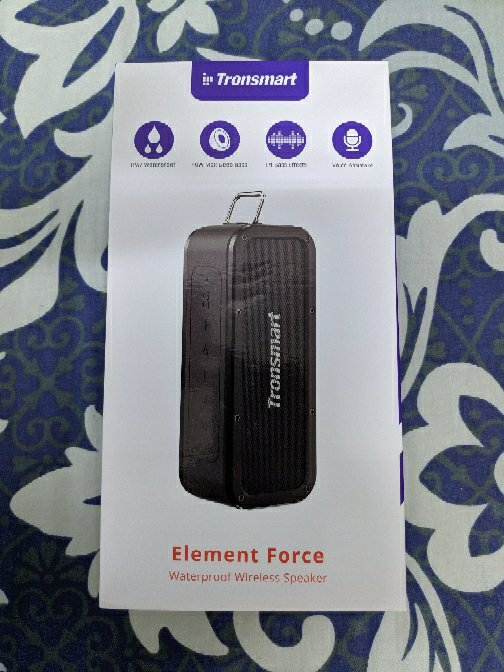 Tronsmart Force SoundPulse™ 40W Bluetooth 5.0 Speaker Google Assistant IPX7 TWS & NFC 15 Hours Playtime