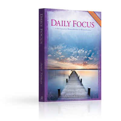 Daily Focus Homeschool Devotional Book