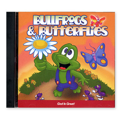 Bullfrogs and Butterflies® : God Is Great