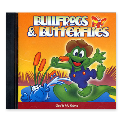Bullfrogs and Butterflies® : God Is My Friend