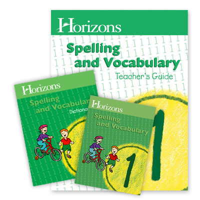 Horizons 1st Grade Spelling & Vocabulary Set