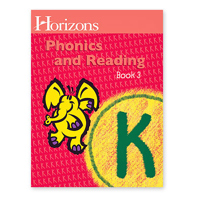 Horizons Kindergarten Phonics & Reading Student Book 3