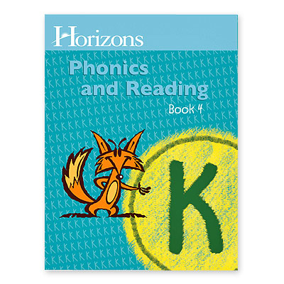 Horizons Kindergarten Phonics & Reading Student Book 4