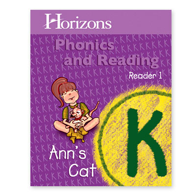 Horizons Kindergarten Phonics & Reading Reader 1