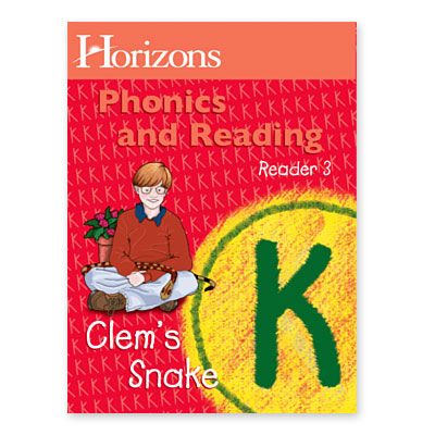 Horizons Kindergarten Phonics & Reading Reader 3