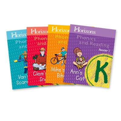 Horizons Kindergarten Phonics & Reading Student Reader Set