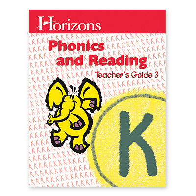 Horizons Kindergarten Phonics & Reading Teacher's Guide 3