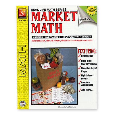 Market Math Worksheets