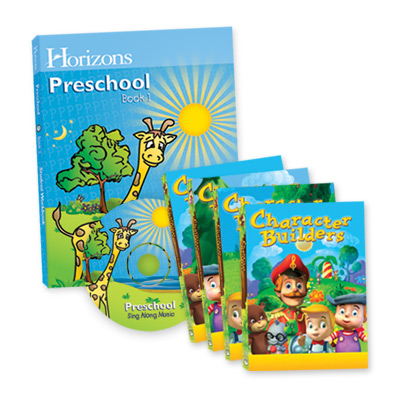 Horizons Preschool Complete Curriculum & Multimedia Set