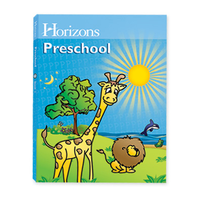 Horizons Preschool Curriculum Student Workbook 1