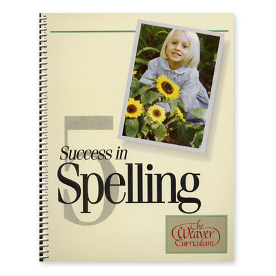 Weaver Success in Spelling Level 5