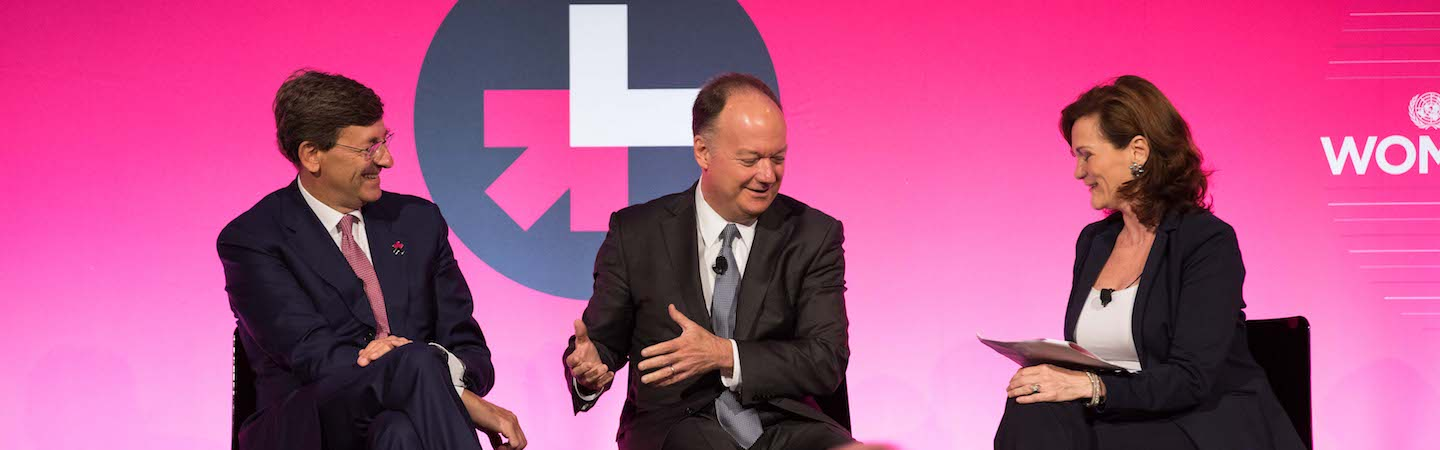 President DeGioia on a HeForShe panel
