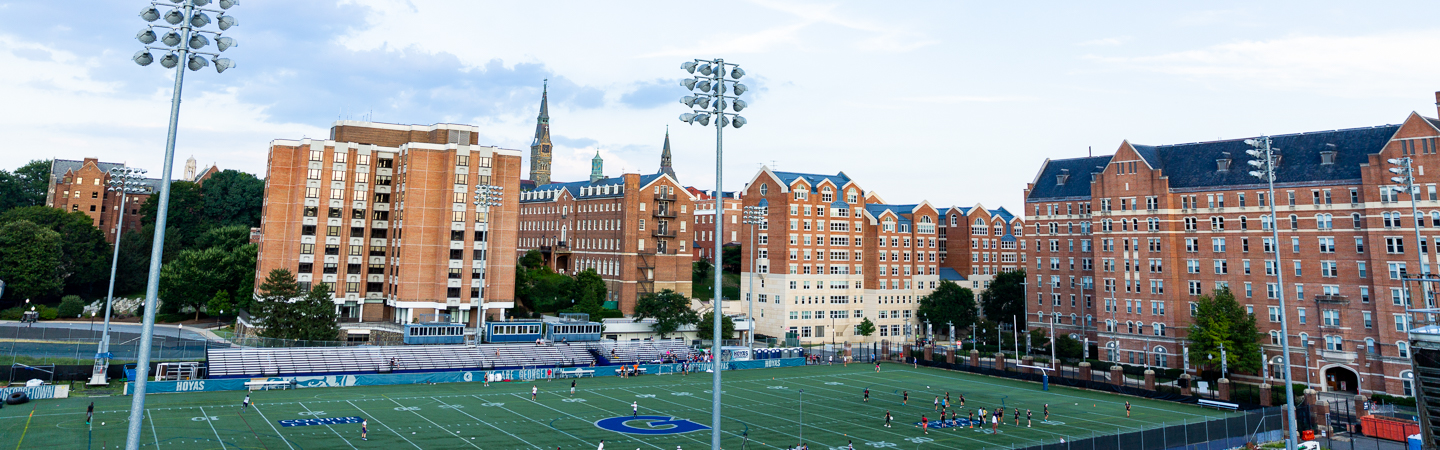 Cooper Field at Georgetown University