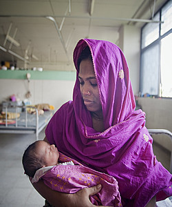 Mother and child international, UN photo from Flickr