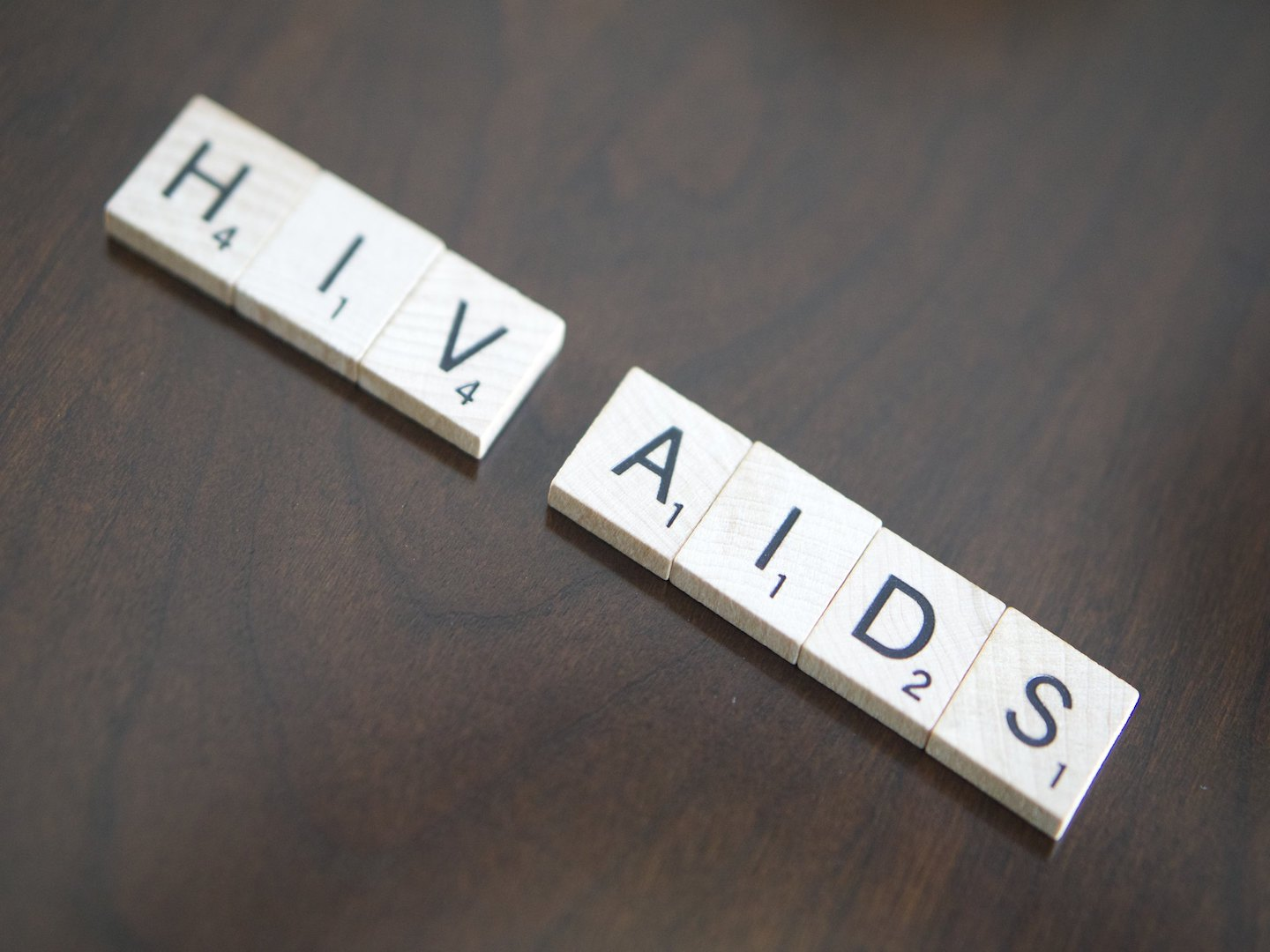 HIV AIDS Scrabble
