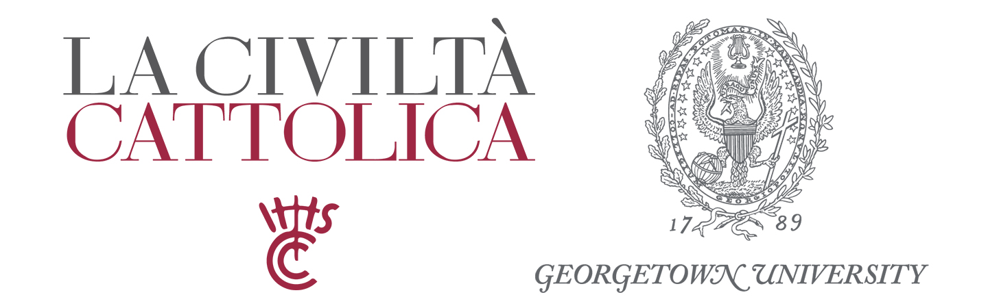 La Civilta Cattolica and Georgetown University logos